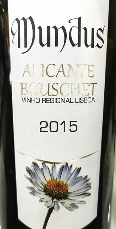 Отзыв о вине Mundus Alicante Boushet Lisboa 2015