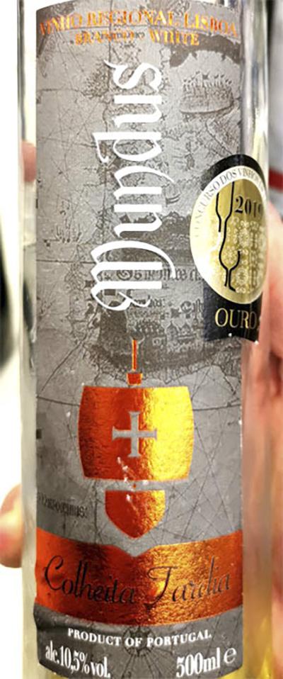 Отзыв о вине Mundus Colheita Tardia Portugal vinho branco 2017