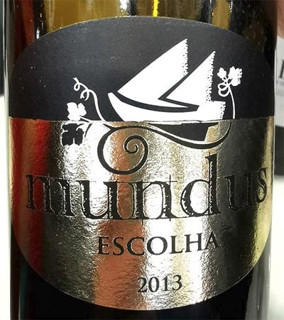 Отзыв о вине Mundus Escolha 2013