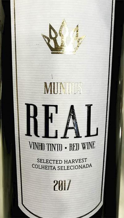 Отзыв о вине Mundus REAL Selected Harvest Tinto Red 2017