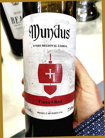 Отзыв о вине Mundus Tinto Red Lisboa 2017