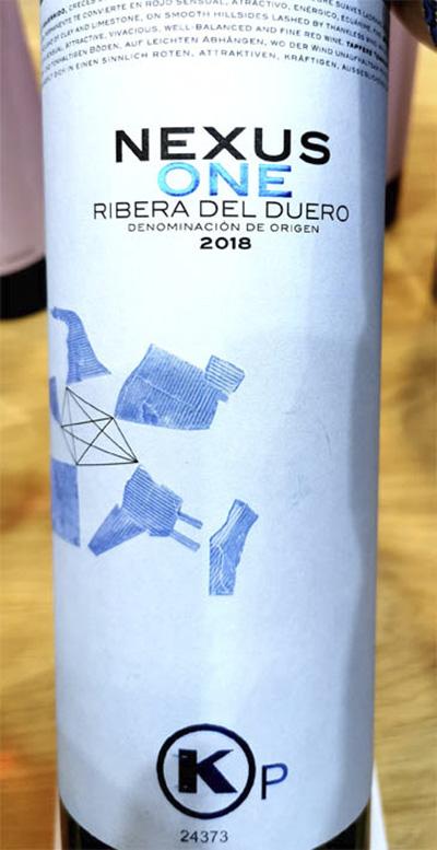 Отзыв о вине Nexus One Kosher Ribera del Duero 2018