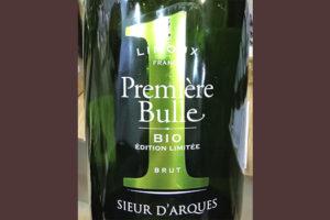 Отзыв об игристом вине Sieur d'Arques Premiere Bulle Bio Brut Cremant de Limoux