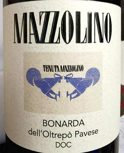 Tenuta Mazzolino Bonarda dell'Oltrepo Pavese 2017 красное вино отзыв