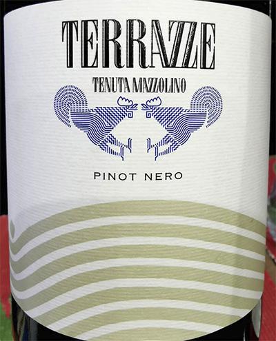 Tenuta Mazzolino Terrazze Pino Nero 2017 красное вино отзыв