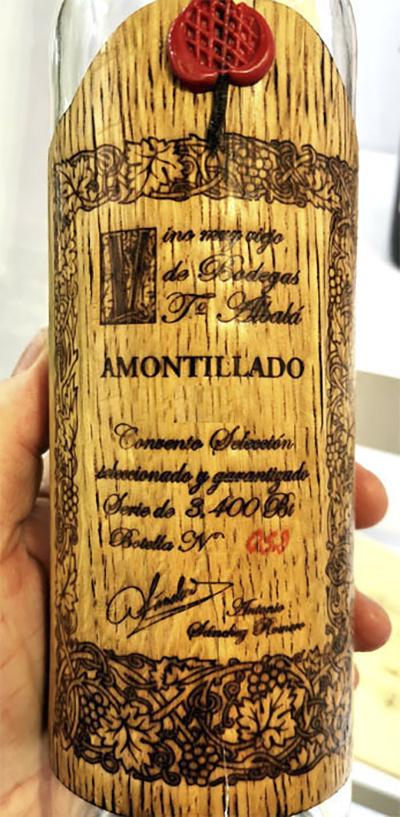 Отзыв о вине Toro Albala Don PX Pedro Ximenez Convento Seleccion 1958