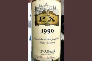 Отзыв о вине Toro Albala Don PX Pedro Ximenez dulce 1990