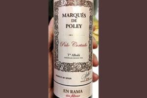 Отзыв о вине Toro Albala Marques de Poley Palo Cortado En Rama