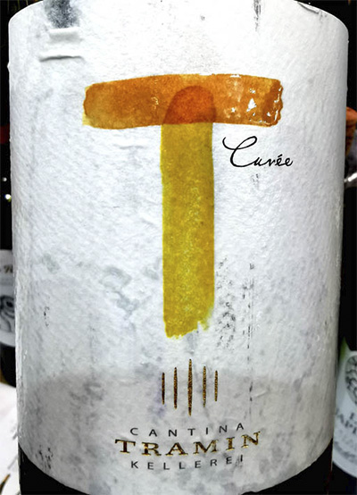 Отзыв о вине Tramin T-cuvee bianco 2018