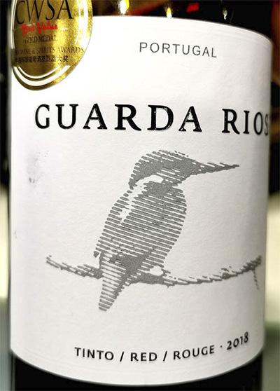 Отзыв о вине Vale d'Algares Guarda Rios Tinto 2018