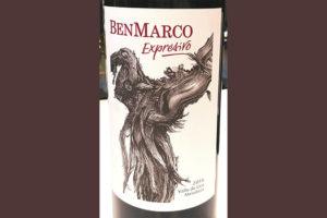 BenMarco Expresivo Mendoza Argentina 2016 красное вино отзыв