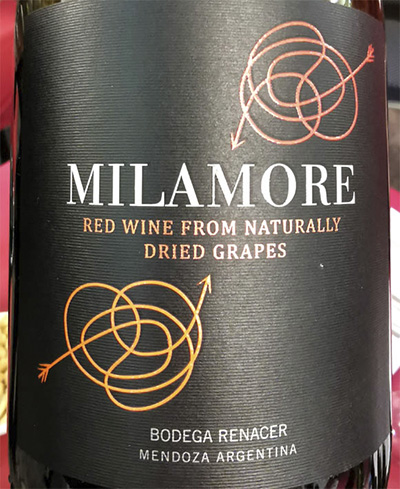 Bodega Rinacer Milamore red wine from dried grapes 2016 красное вино отзыв