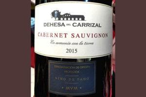 Dehesa del Carrizal Cabernet Sauvignon Vino de Pago 2015 красное вино отзыв