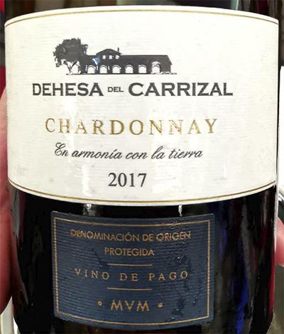 Dehesa del Carrizal Chardonnay Vino de Pago 2017 белое вино отзыв