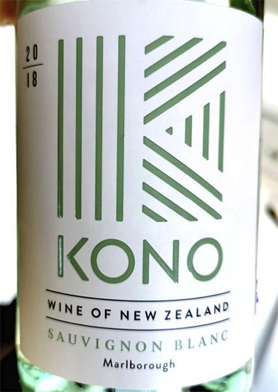 Kono Sauvignon Blanc Marlborough New Zealand 2018 белое вино отзыв