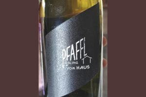 Pfaffl Riesling Vom Haus Austria 2018 белое вино отзыв