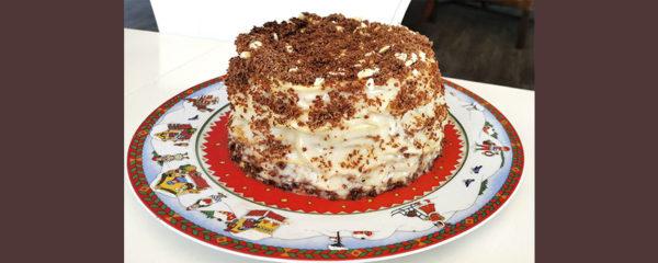 Экспресс рецепт торта «Наполеон»