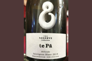 Te Pa Hillside Sauvignon Blanc The Reserve collection Marlborough New Zealand 2018 белое вино отзыв