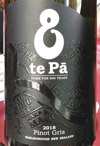 Te Pa Pinot Gris Marlborough New Zealand 2018 белое вино отзыв