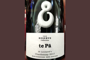 Te Pa St. Leonard's Chardonnay The Reserve collection Marlborough New Zealand 2017 белое вино отзыв