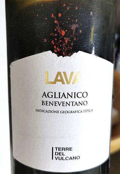 Terre del Vulcano Lava Aglianico Beneventano 2018 красное вино отзыв
