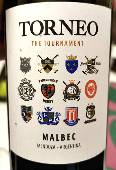 Torneo The Tournament Malbec Mendoza Argentina 2019 красное вино отзыв