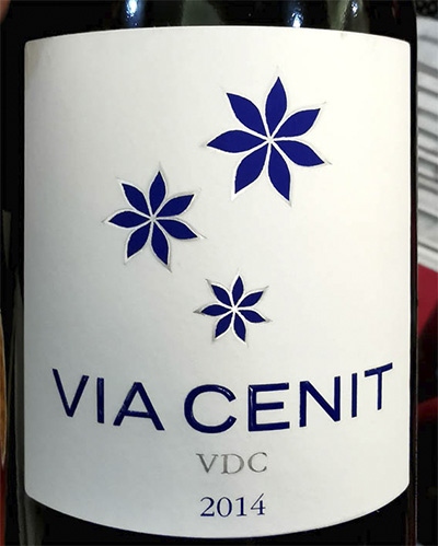 VIA Cenit VDC 2014 красное вино отзыв