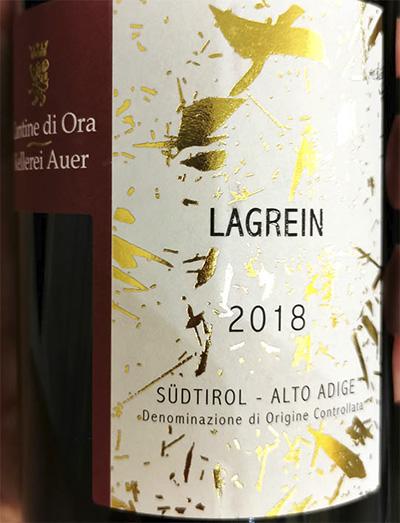 Cantine di Ora Lagrain Sudtirol Alto Adoge 2018 красное вино отзыв
