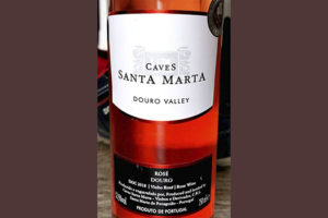 Отзыв о вине Caves Santa Marta Douro Valley Rose Portugal 2018 розовое вино отзыв