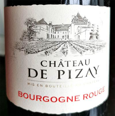 Chateau de Pizay Bourgogne rouge 2008 красное вино отзыв