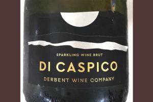 Di Caspico Sparkling Wine Brut Derbent Wine Company игристое вино белое брют отзыв