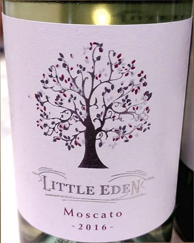 Little Eden Mosacato 2016 белое вино отзыв