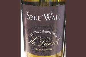 Spee'Wah Cowra The Legend Chardonnay Single Vineyard Australia 2016 белое вино отзыв