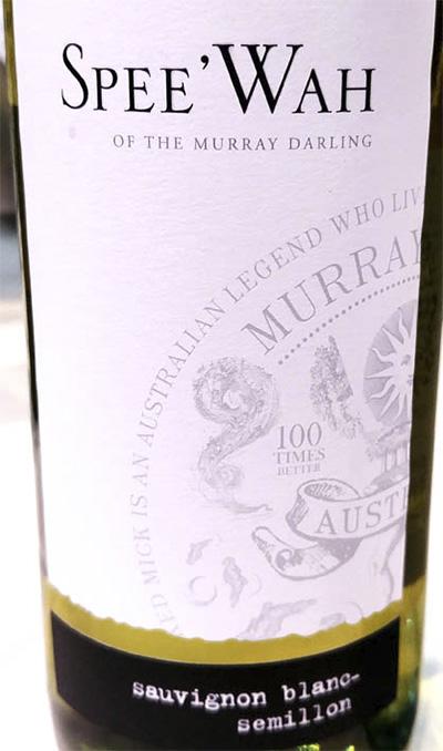 Spee'Wah Sauvignon Blanc – Semillon Murray – Darling Australia 2017 белое вино отзыв