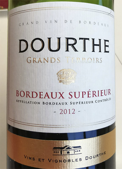 Dourthe Grand Terroirs Bordeaux Superieur 2012 Красное вино отзыв