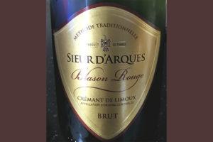 Sieur d'Arques Blason Rouge Cremant de Limoux Brut игристое вино белое брют отзыв