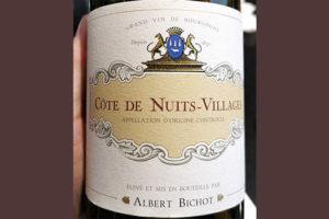 Albert Bichot Cote de Nuits-Villages 2013 красное вино отзыв