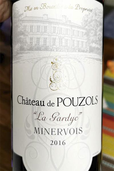Alta Chateau de Pouzols La Gardye Minervois 2016 красное вино отзыв