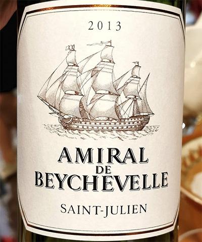 Amiral de Beychevelle Saint-Julien 2013 красное вино отзыв