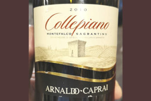 Arnoldo Caprai Collepiano Montefalco Sagrantino 2010 красное вино отзыв