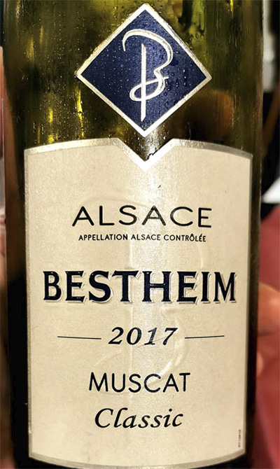 Bestheim Muscat classic Alsace 2017 Белое вино отзыв