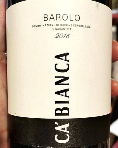 Ca'Bianca Barolo 2015 красное вино отзыв