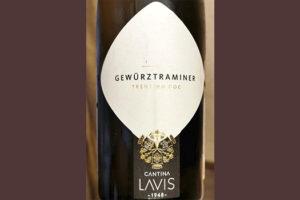 Cantina Lavis Gewurztraminer Trentino DOC 2018 белое вино отзыв