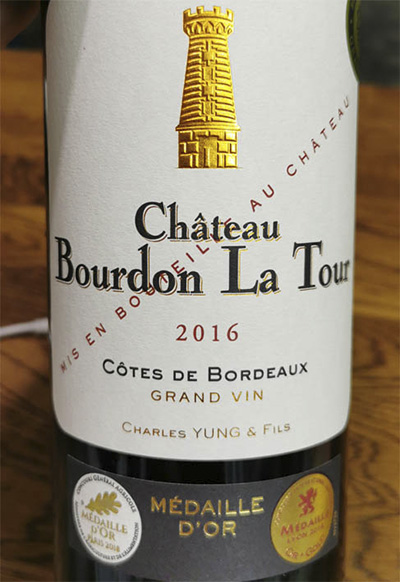 Charles Yung and Fils Chateau Burdon La Tour 2016 красное вино отзыв
