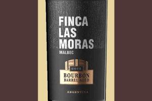 Finca las Moras Malbec Bourbon barrel aged Argentina 2016 красное вино отзыв
