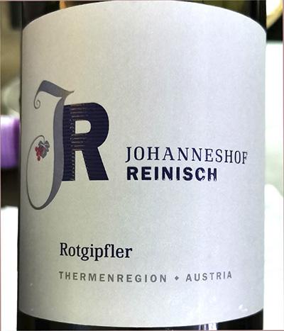 Johanneshof Reinisch Rotgipfler Thermenregion Austria 2018 белое вино отзыв