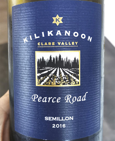 Kilikanoon Pearce Road Semillon Clare Valley 2016 Белое вино отзыв
