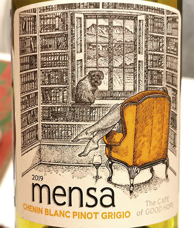 Mensa Chenin Blanc Pinot Grigio Cape of Good Hope 2019 белое вино отзыв
