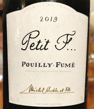 Michel Redde at Fils Petit F Pouilly-Fume 2019 белое вино отзыв