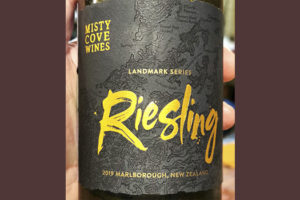 Misty Cove Wines Risling landmark series 2019 Белое вино отзыв